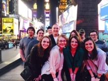 The Robert Morris Chapter! Front Row (L-R): Kendall Valan, Hannah Smith, Leah Fleischel, Delaney Hassell Second Row (L-R): Jon Fisher, Eddie Sheehy, Bri Ferguson, Matt Merlino Back Row (L-R): Antonio Corona, Nick Buzzell, Paul Wintruba