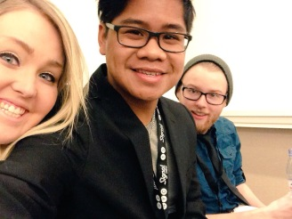Buena Vista chapter members! L to R, Kaylie Plowman, Tyson-Jay Domingo, Justice Gage